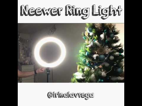 @irinalavrega's cover photo for 'Neewer Ring Light #ringlight'