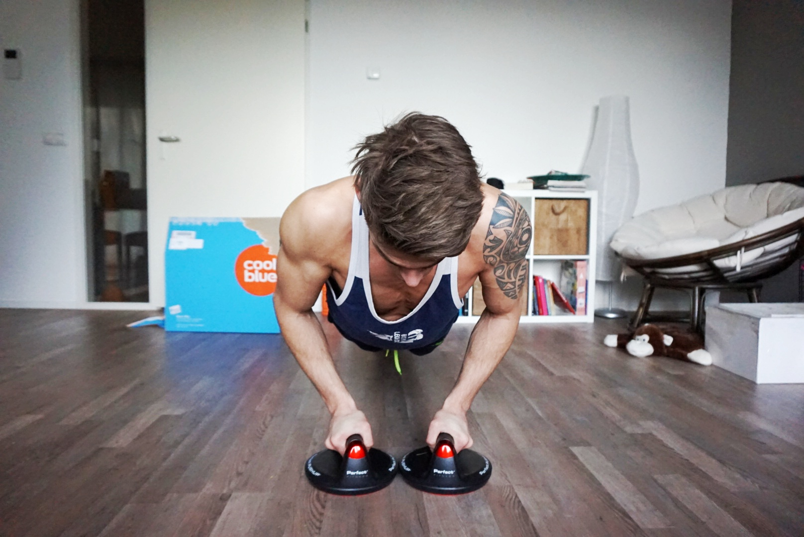 @marrkb's cover photo for 'Thuis workout met de Perfect Push-up V2! - Gymjunkies l Fitness, food & love'