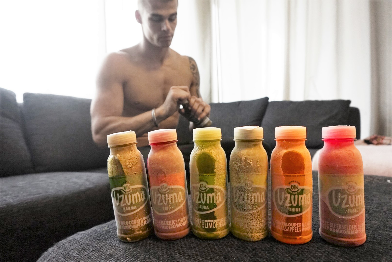@marrkb's cover photo for 'Uzuma Raw Slow Juice, échte gezonde sapjes! - Gymjunkies l Fitness, food & love'