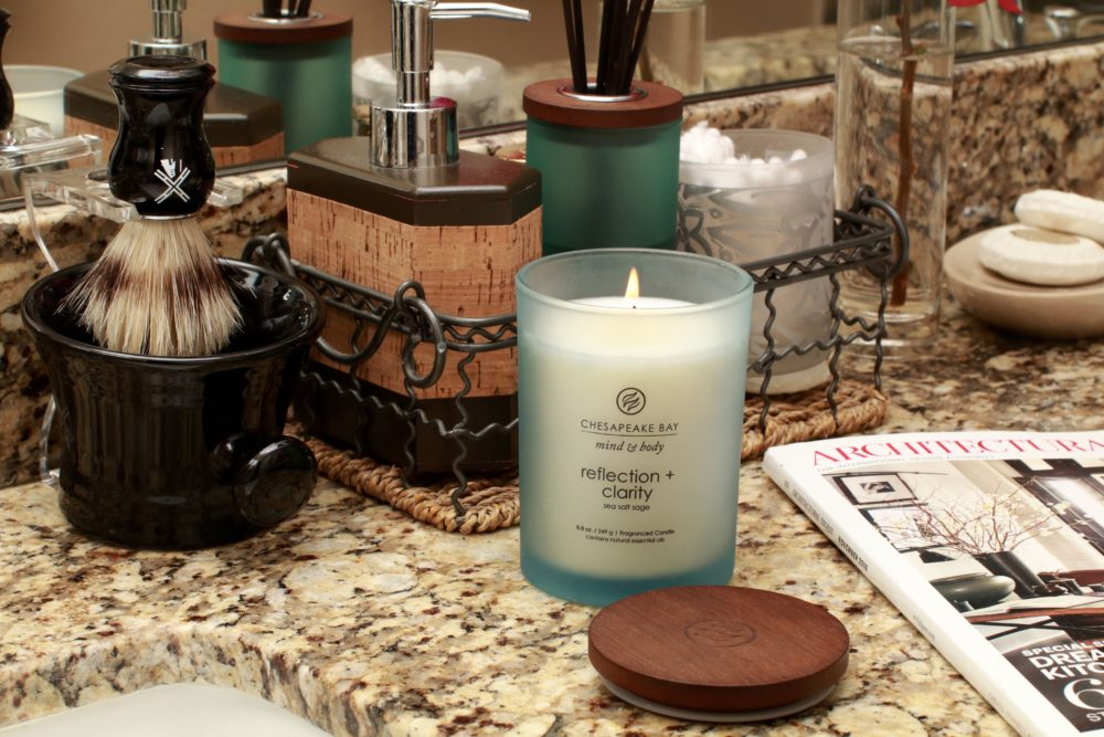 @abeautifulwhim's cover photo for 'Creating Spa Bathrooms with Chesapeake Bay Candle - A Beautiful Whim'