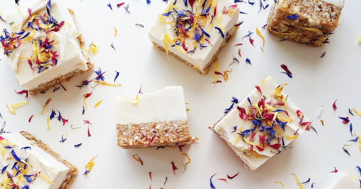 @naturallymeghan's cover photo for 'Naturally Meghan : Raw Vegan Lemon Cheesecake Squares (Sugar-Free)'