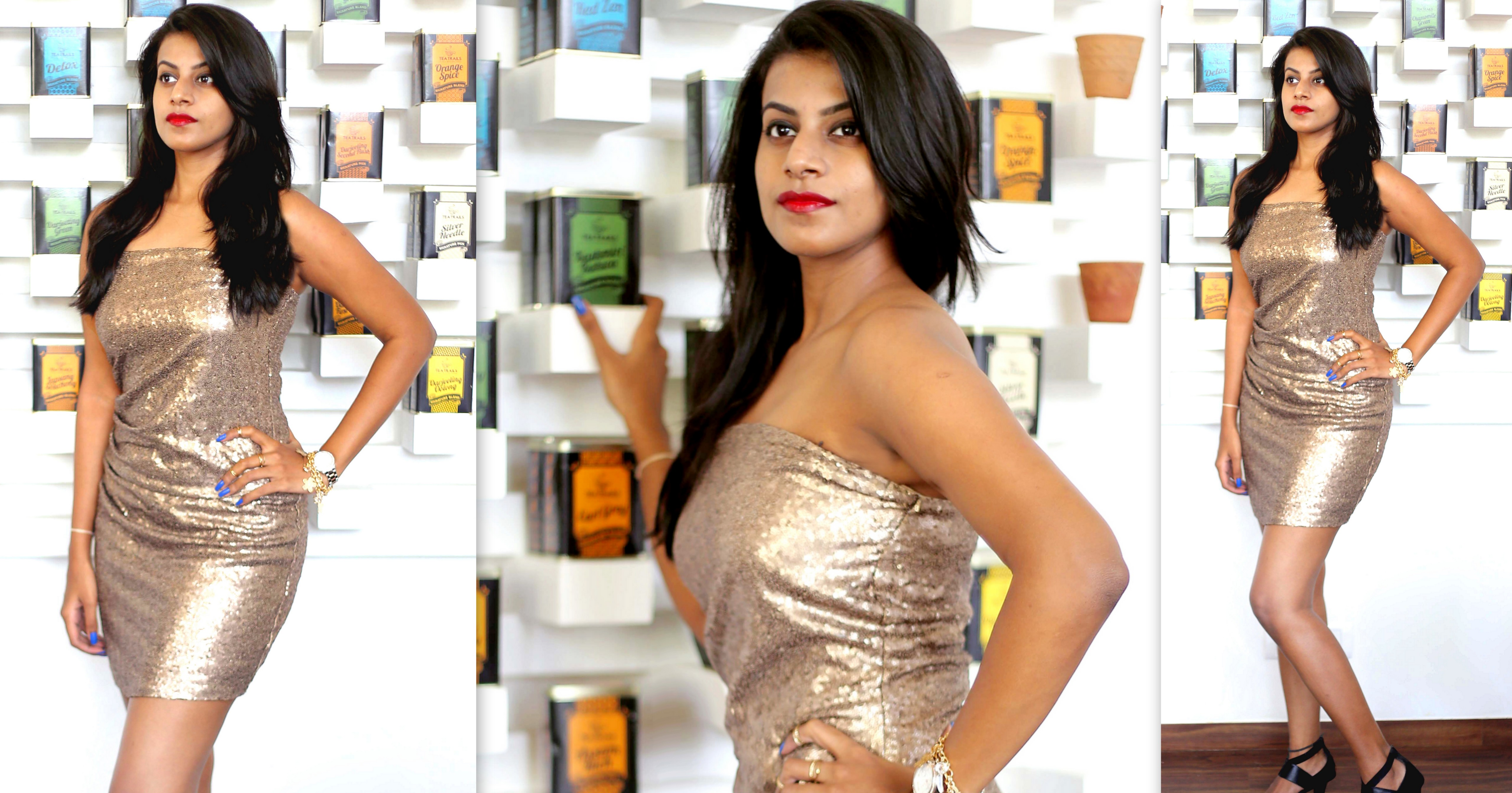 @namrata_thenrage's cover photo for 'Go Glam This New Year's Eve, With A Sequin Dress! - The.N.rage'