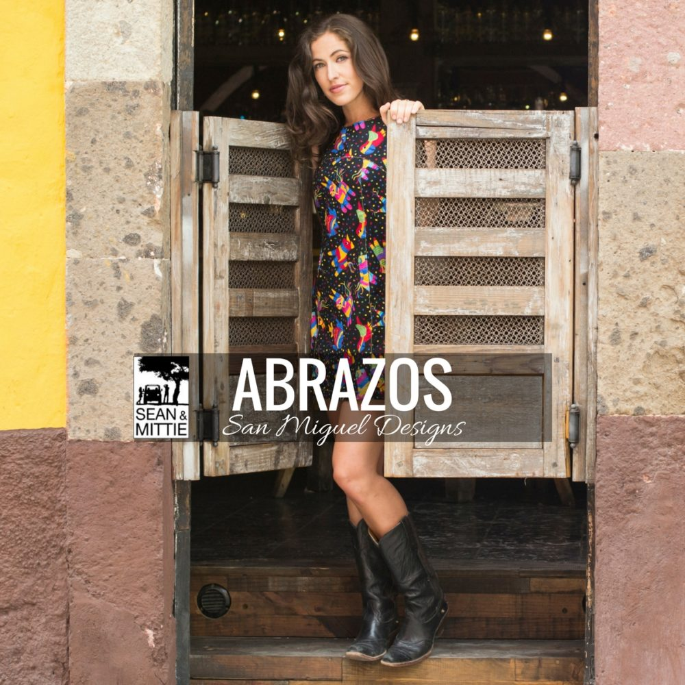 @mittieroger's cover photo for 'Recommendation Corner: Abrazos, San Miguel Designs by Patrice Wynne - Sean and Mittie'