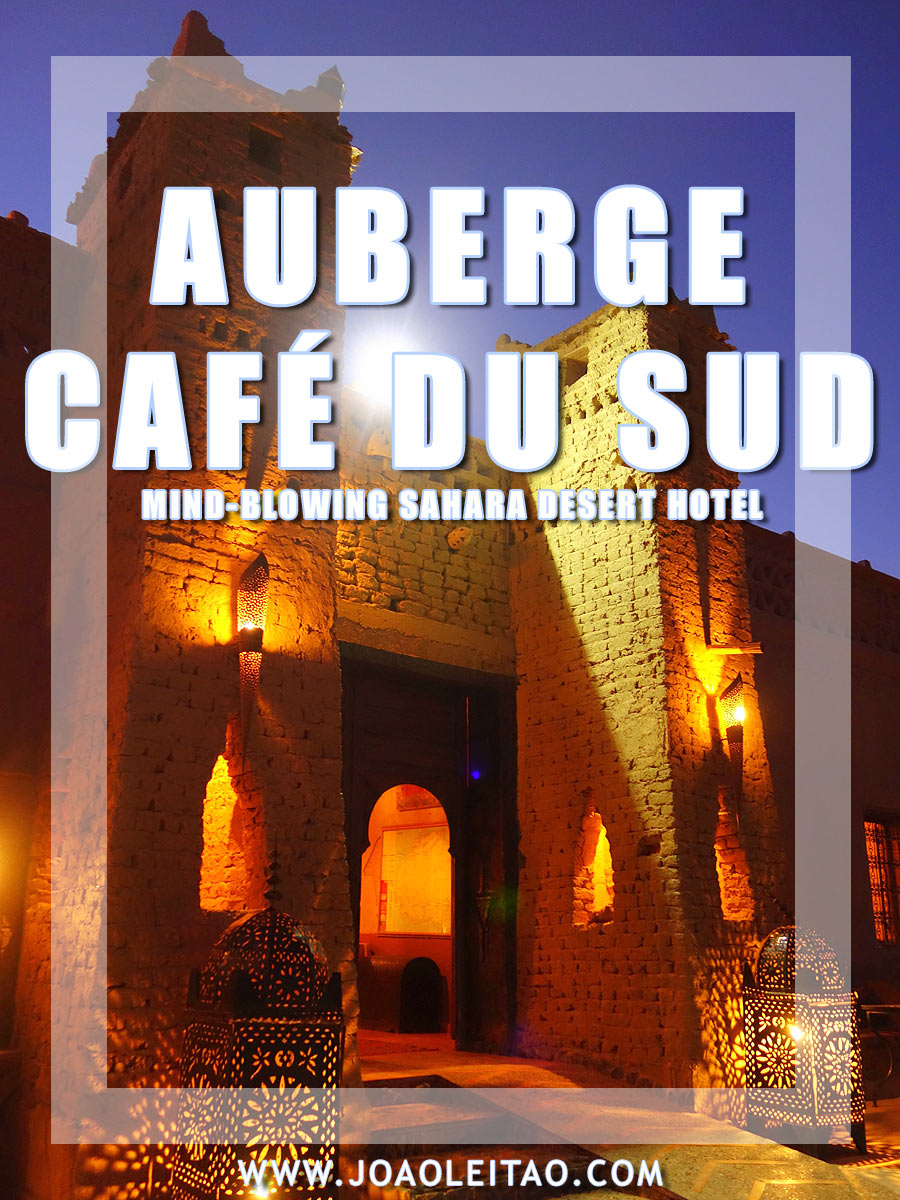 @joaoleitaoviagens's cover photo for 'Mind-blowing Sahara Desert Hotel - south Morocco'