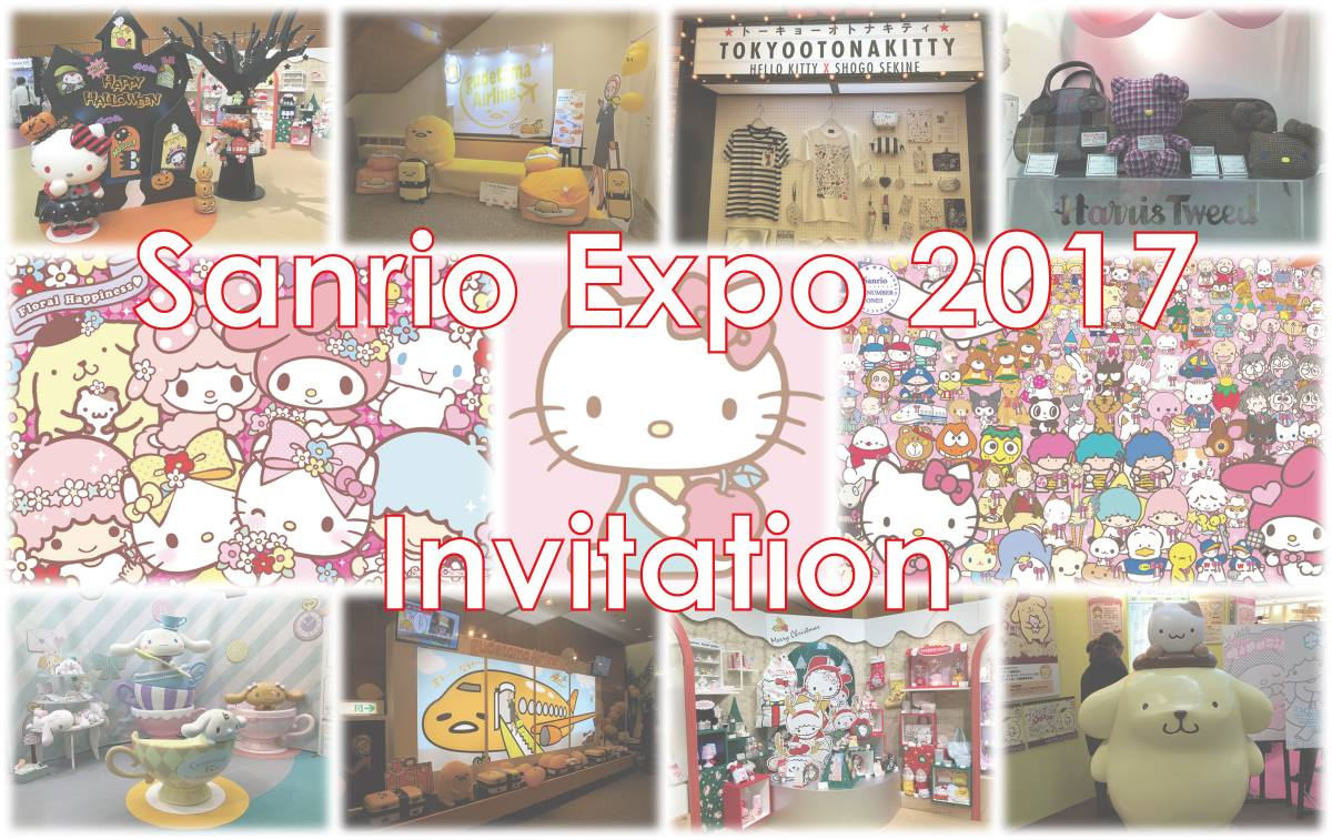 @6th_archangel's cover photo for 'BIG NEWS: Sanrio Expo 2017 Invitation'