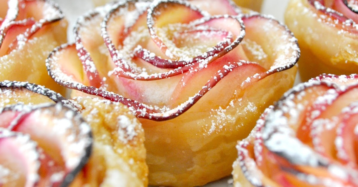 @cookwithmanuela's cover photo for 'How to Make a Gorgeous Rose-Shaped Apple Dessert'