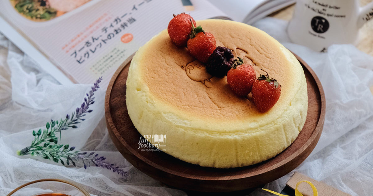 @myfunfoodiary's cover photo for '[NEW SPOT] FUWA FUWA Fluffy Japanese Cheesecake in PIK'