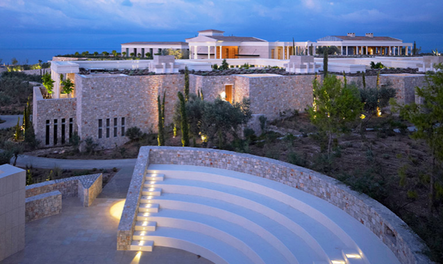 @hashtaglife's cover photo for 'Amanzoe by Aman, Greece ~ Hashtag Life'
