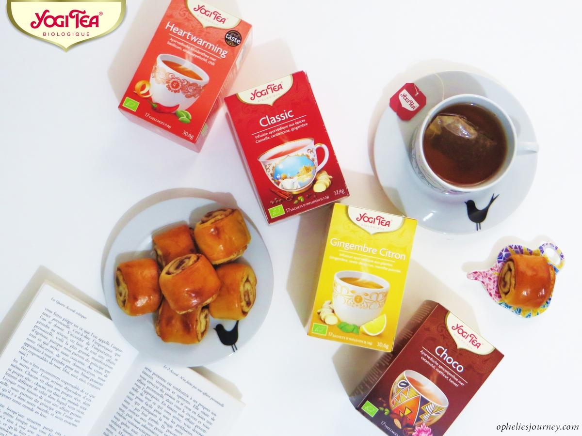@opheliesjourney's cover photo for 'YOGI TEA, mon avis sur les infusions best sellers de la marque bio'