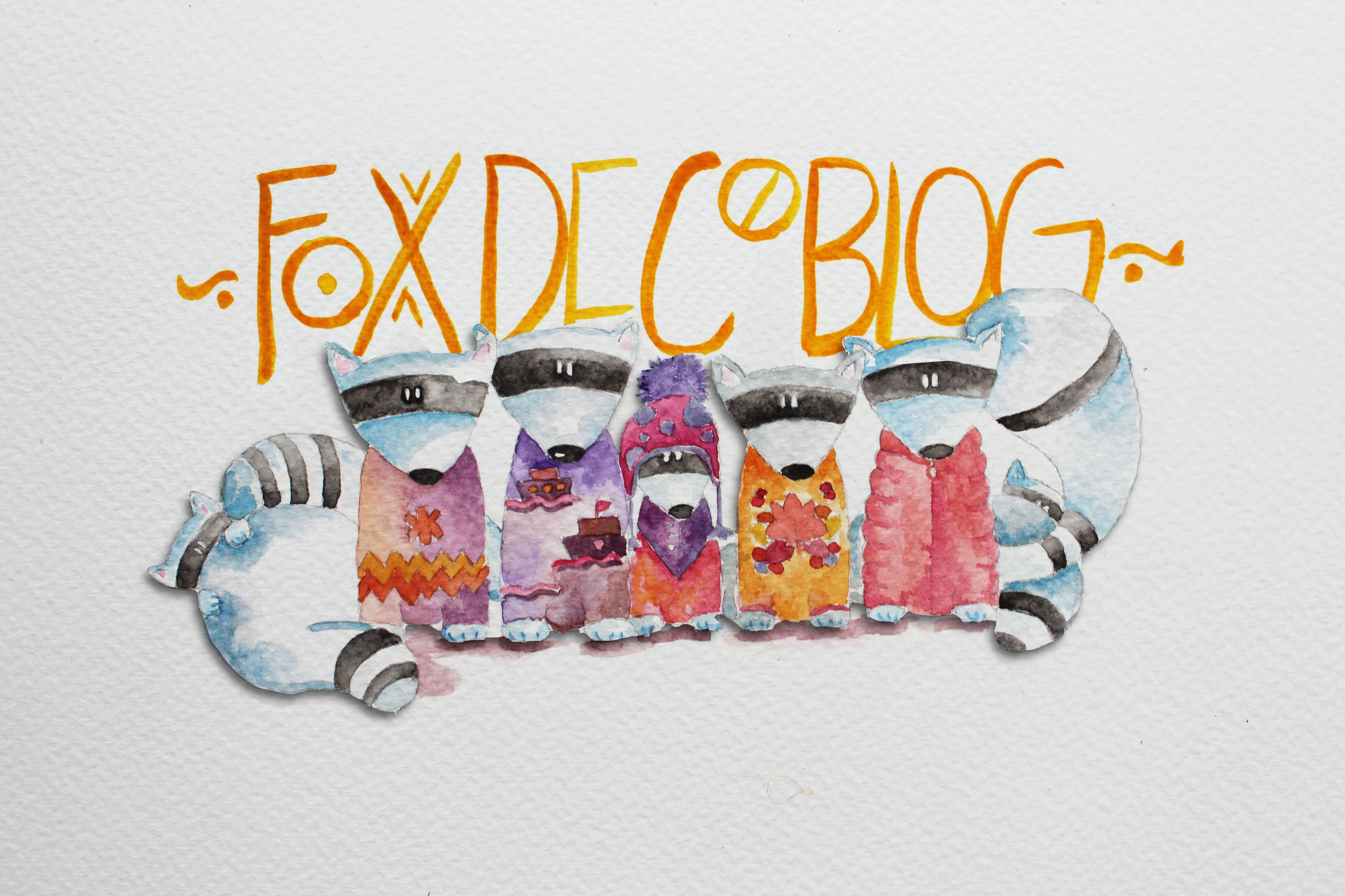 @holapocket's cover photo for 'Logo – Fox Deco Blog'
