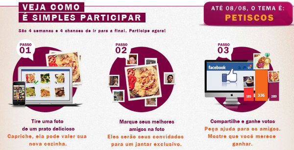 @casarei's cover photo for 'O concurso cultural continua & A Brastemp transforma a cozinha de internautas'