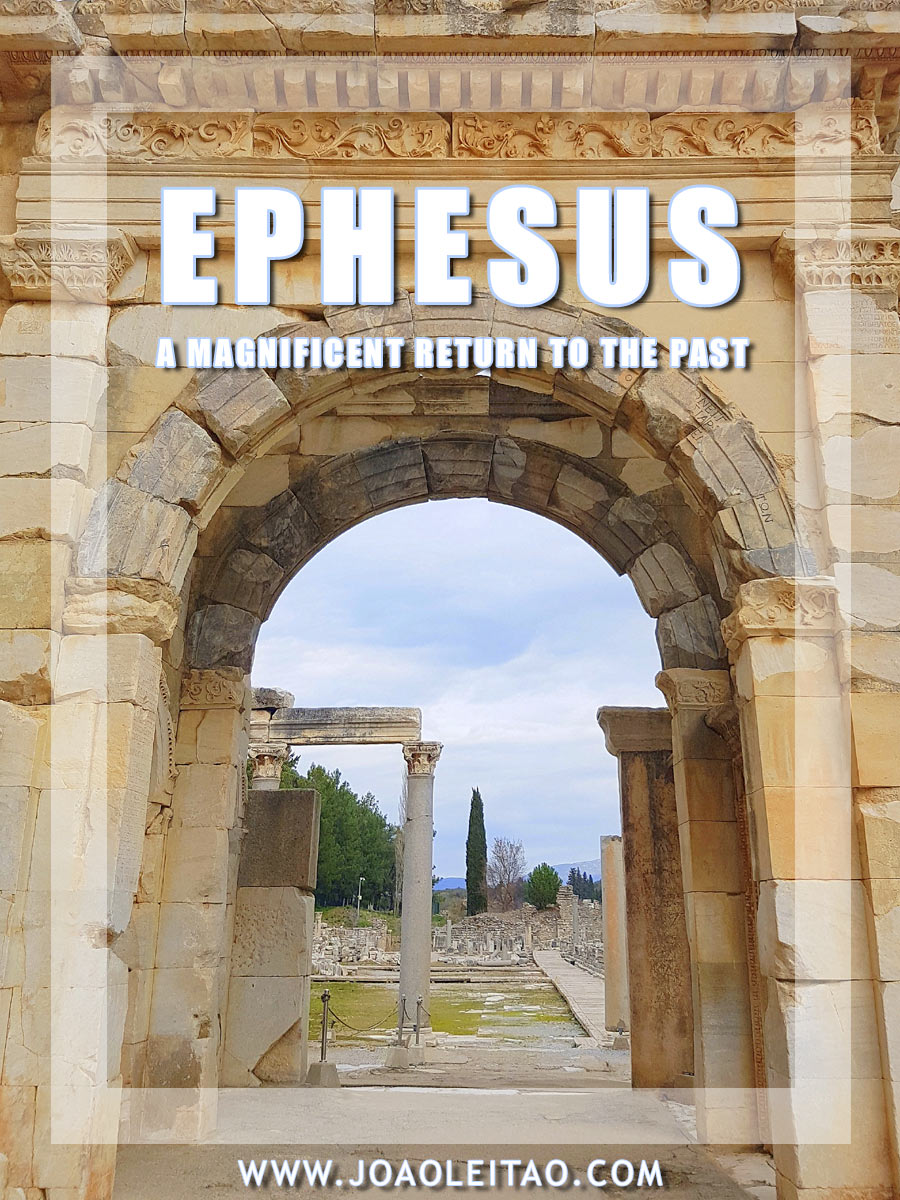 @joaoleitaoviagens's cover photo for 'The Greco-Roman city of Ephesus: a magnificent return to the past'