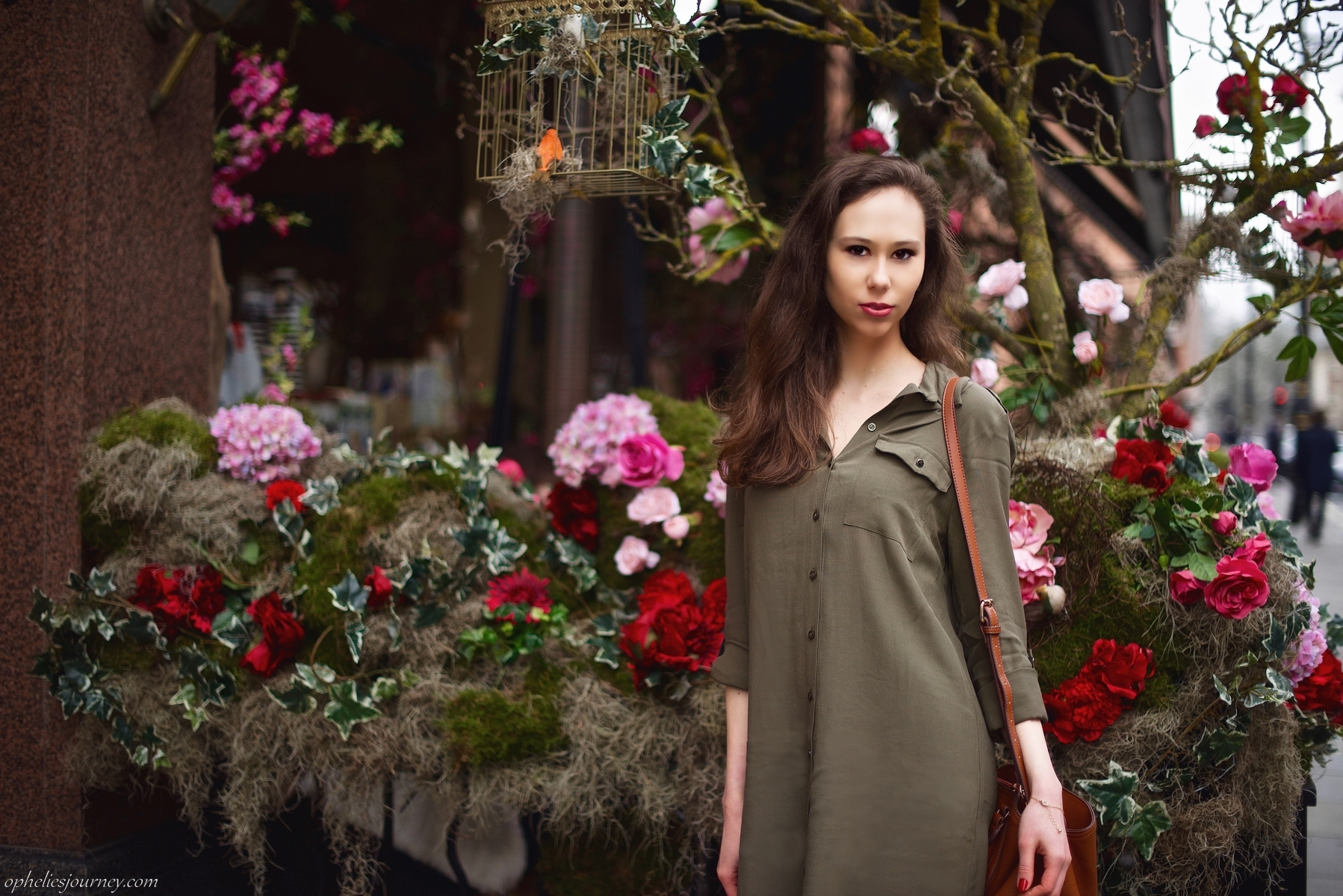 @opheliesjourney's cover photo for 'Un avant-goût de printemps avec mon look Miss Selfridge'