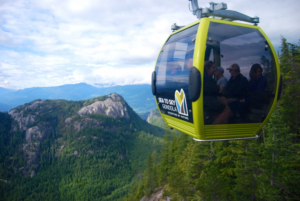 @theclumsytraveler's cover photo for 'Flying High in the Sea to Sky Gondola | The Clumsy Traveler'