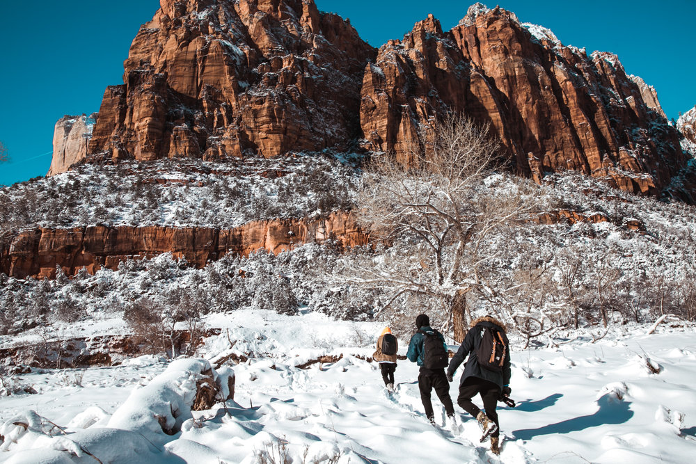 @xjenn3's cover photo for 'HIKE ON ZION + (BONUS WINTER WISHLIST FROM SHEIN AT THE END)'