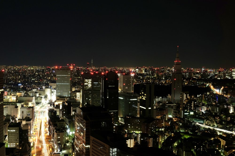 @traveling_newlyweds's cover photo for 'Why You Should Splurge on a Five-Star Hotel in Tokyo - Park Hyatt'