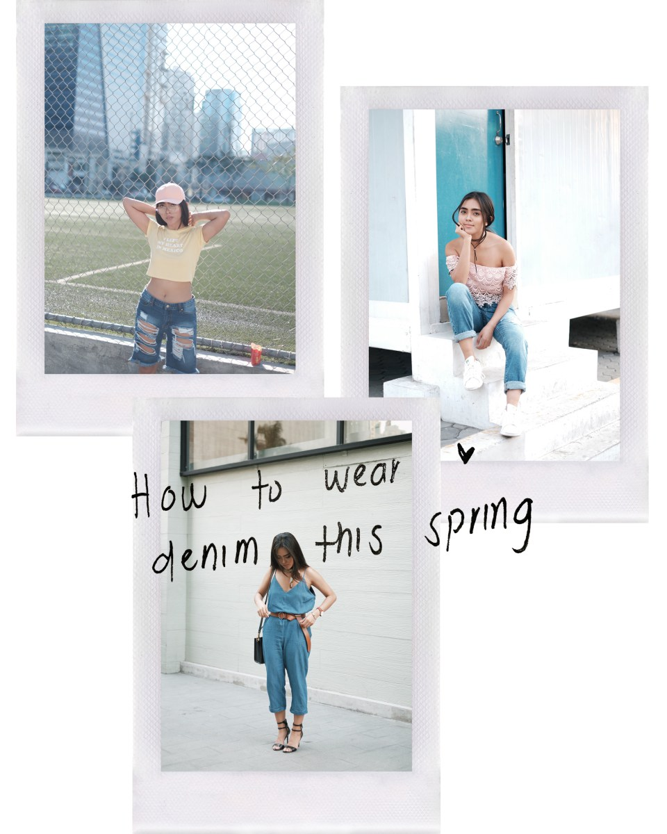 @idaandu's cover photo for 'How to wear denim this Spring'