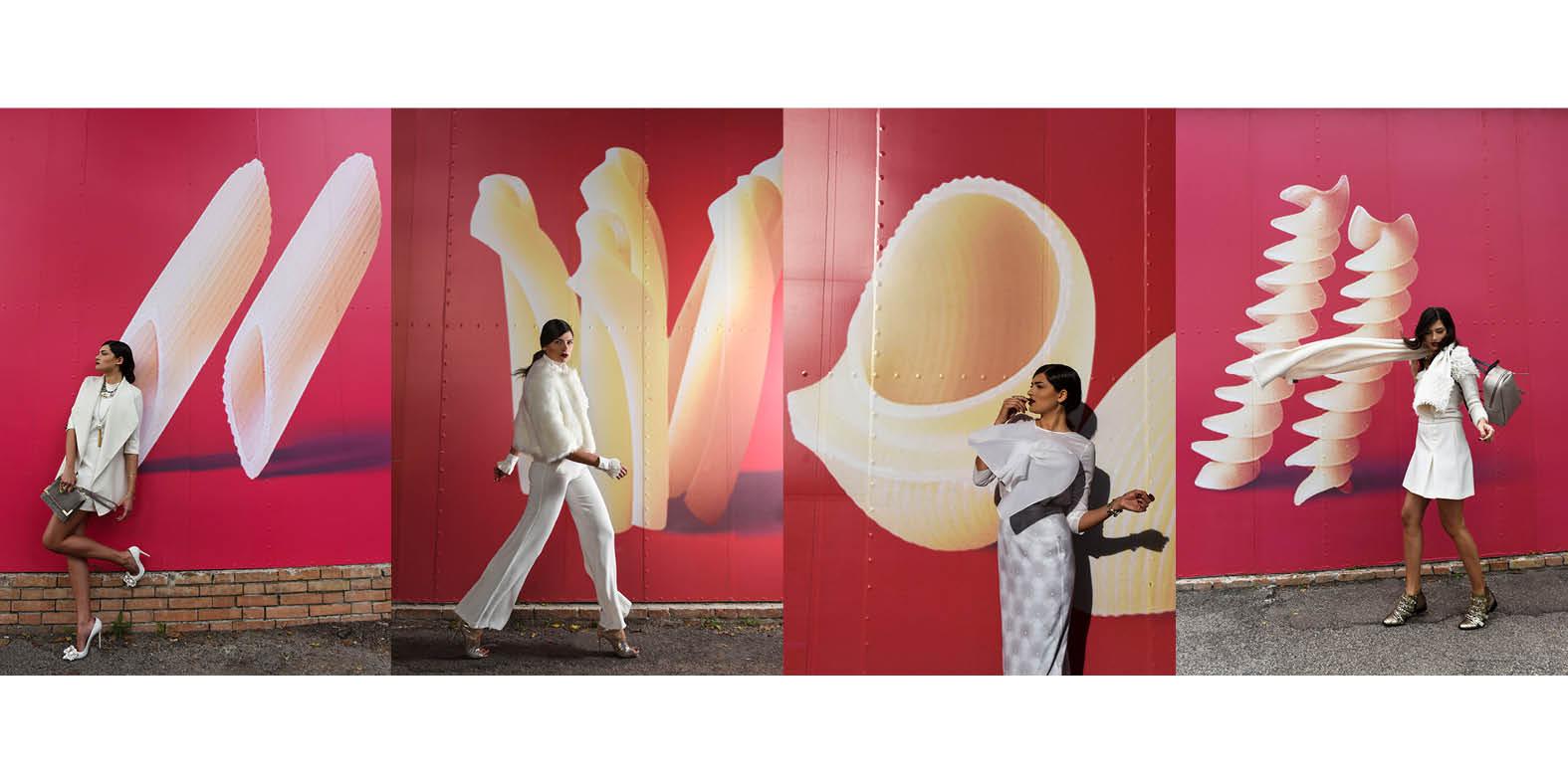 @francesca_cavalera's cover photo for 'Fashion in bianco: di che pasta sei fatta?'