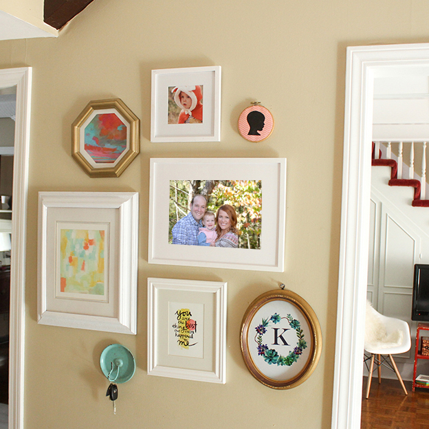 @ohsolovely_blog's cover photo for 'IN PROCESS HOME TOUR // ENTRY WAY + MINTED GALLERY WALL - Oh So Lovely Blog'
