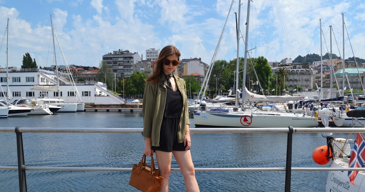 @alejandra.r.arcas's cover photo for 'KL LOOKS: NEGRO + VERDE MILITAR'