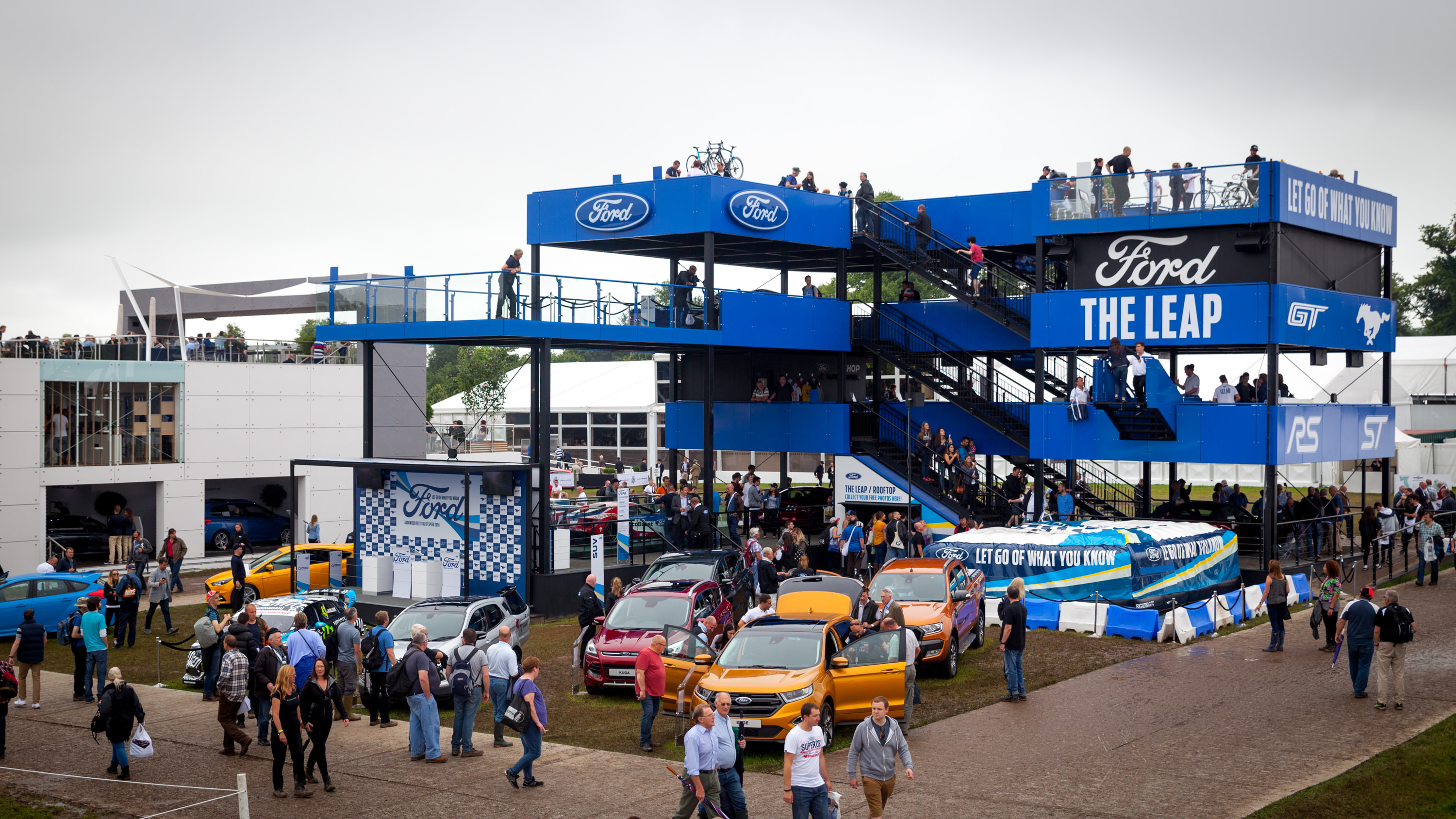 @ampisound's cover photo for 'Ampisound Team Performing for Ford at Goodwood Festival of Speed - Ampisound'