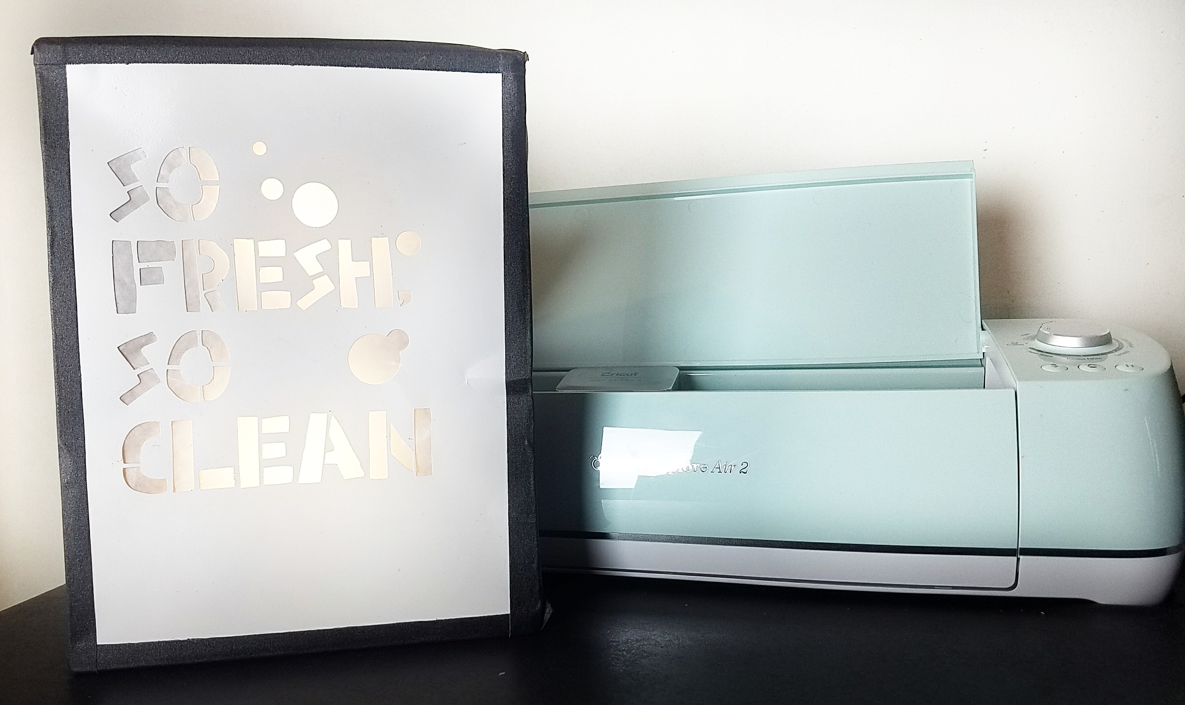 @avdoeswhat's cover photo for 'Get So Fresh And So Clean With Cricut Explore Air 2! - A.V. Does What!?'