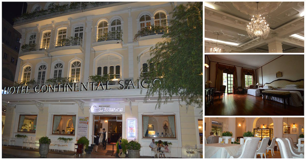 @thetravelninjaz's cover photo for 'Hotel Continental Saigon - A Landmark of History & Luxury - The Travel Ninjas'