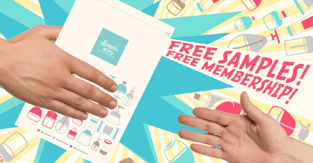 @joysofyz's cover photo for 'Joysofyz: [Beauty] SampleStore.com : Free Samples, Free delivery!'