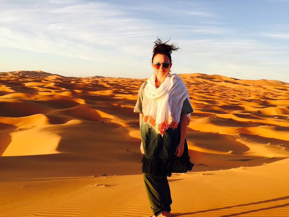 @sarastubbert's cover photo for 'One Night in the Sahara'