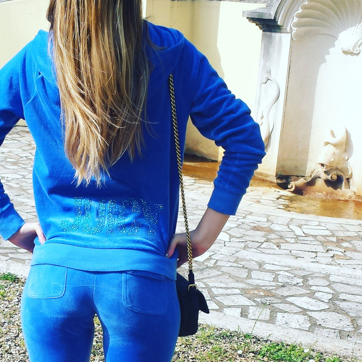 @inessavassilieva's cover photo for 'Juicy Track Suit for Day Spa Fratta Terme Outings.'