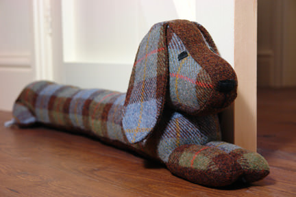 @hisforhome's cover photo for 'Doggie draught excluder - H is for Home Harbinger'