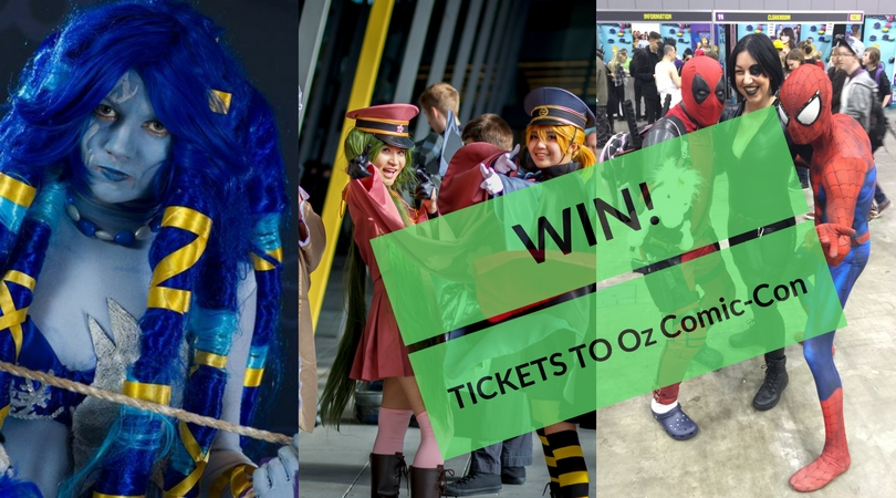 @australianmummy's cover photo for 'Win Weekend Tickets To Oz Comic-Con Valued @ $150RRP - Australian Mum'
