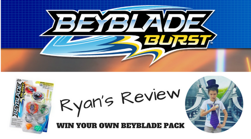 @australianmummy's cover photo for 'Ryan's Beyblade Review & Win A BeyBlade Pack - Australian Mum'