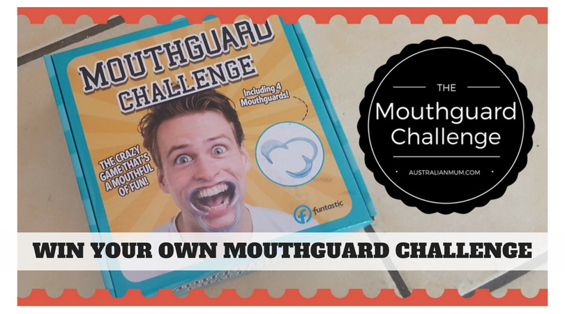 @australianmummy's cover photo for 'Win The Mouthguard Challenge Game - Australian Mum'