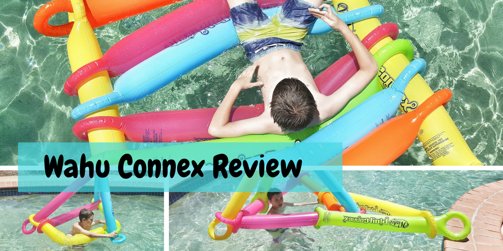 @australianmummy's cover photo for 'Wahu Play Connex - Pool Toys That Combine Construction - Australian Mum'