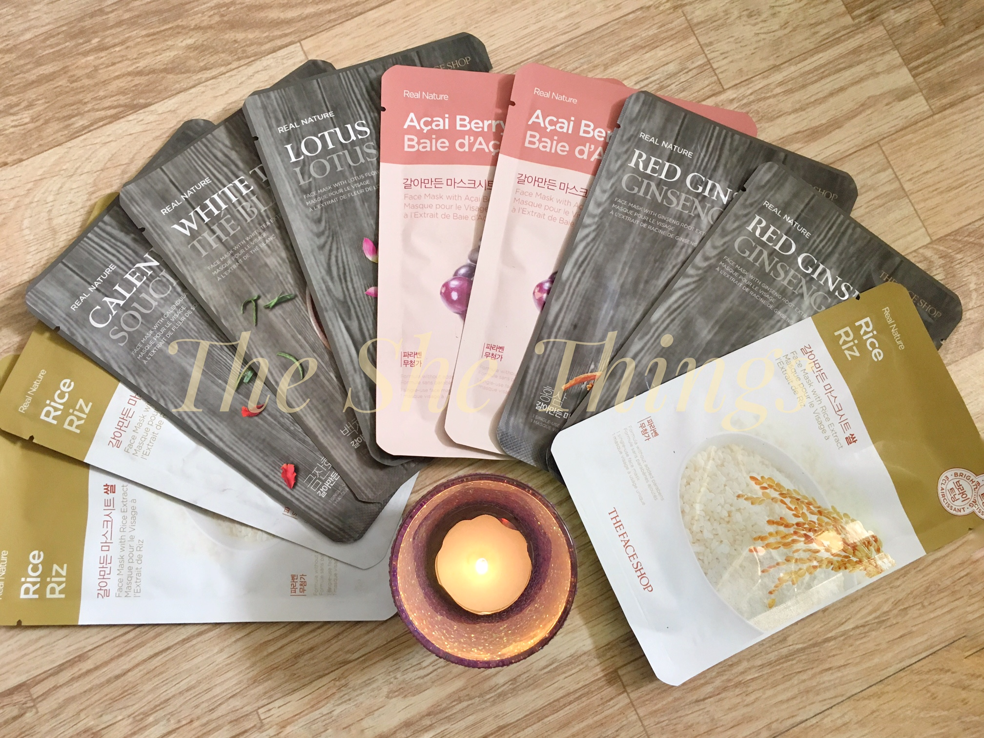 @ms_kriti's cover photo for 'The Face Shop Real Nature Sheet Masks – Review & Photos | | The She Things'