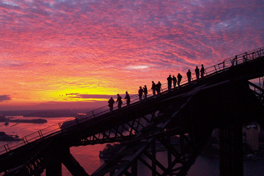 @lebigtrip's cover photo for 'What it's like to climb the Sydney Harbour bridge | Le Big Trip'