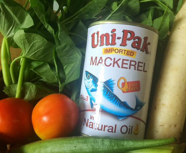 @mamaneesnest's cover photo for 'Save Money, Be Healthy with Uni-Pak Mackerel'