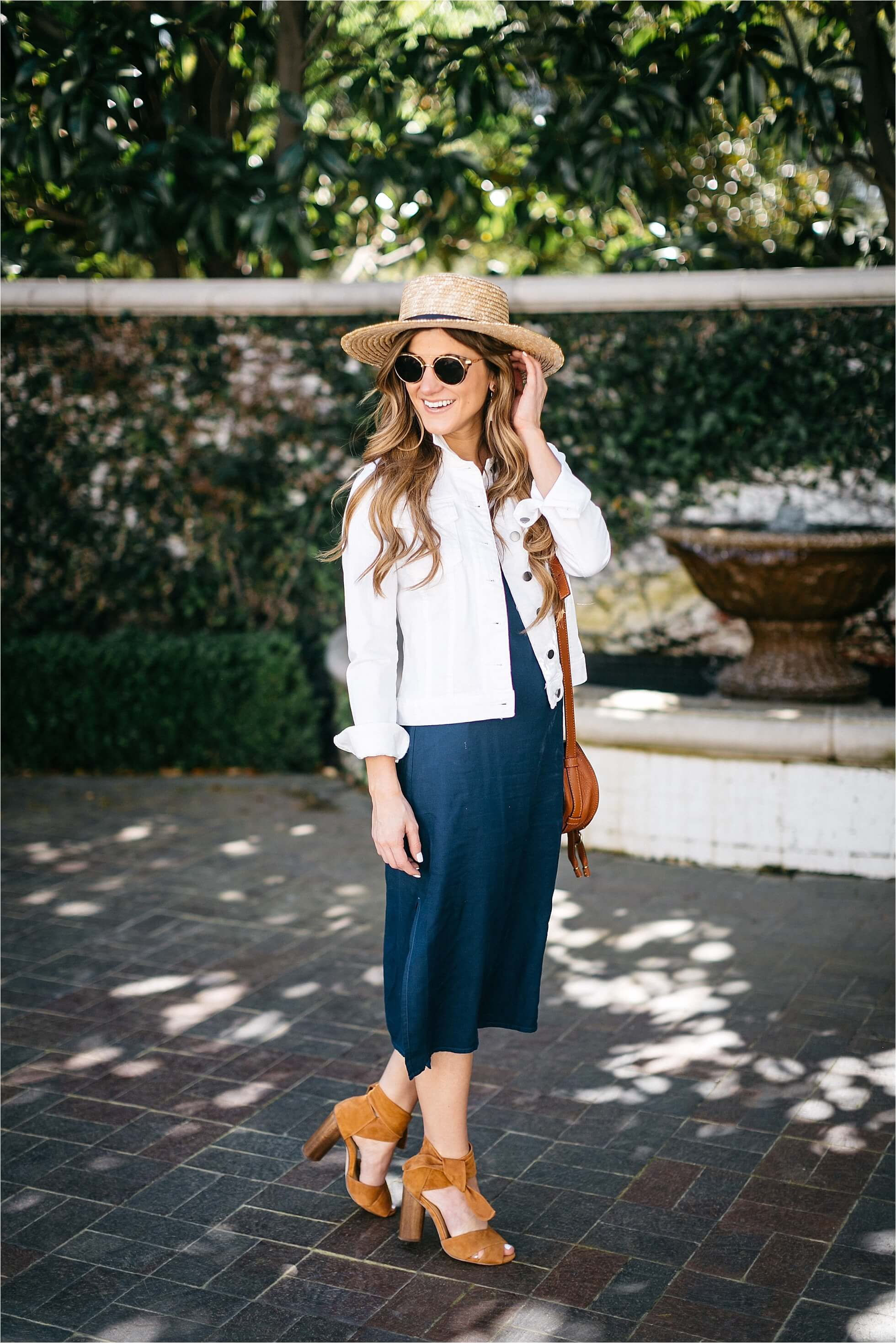 @brightonkeller's cover photo for 'How to Style a Slip Dress: Pairing it With a Denim Jacket'
