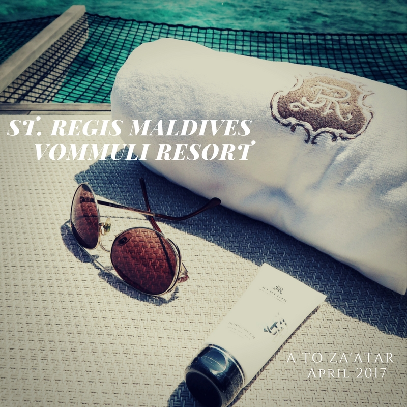 @atozaatar's cover photo for 'The St. Regis Maldives Vommuli Resort: A sophisticated island getaway.'