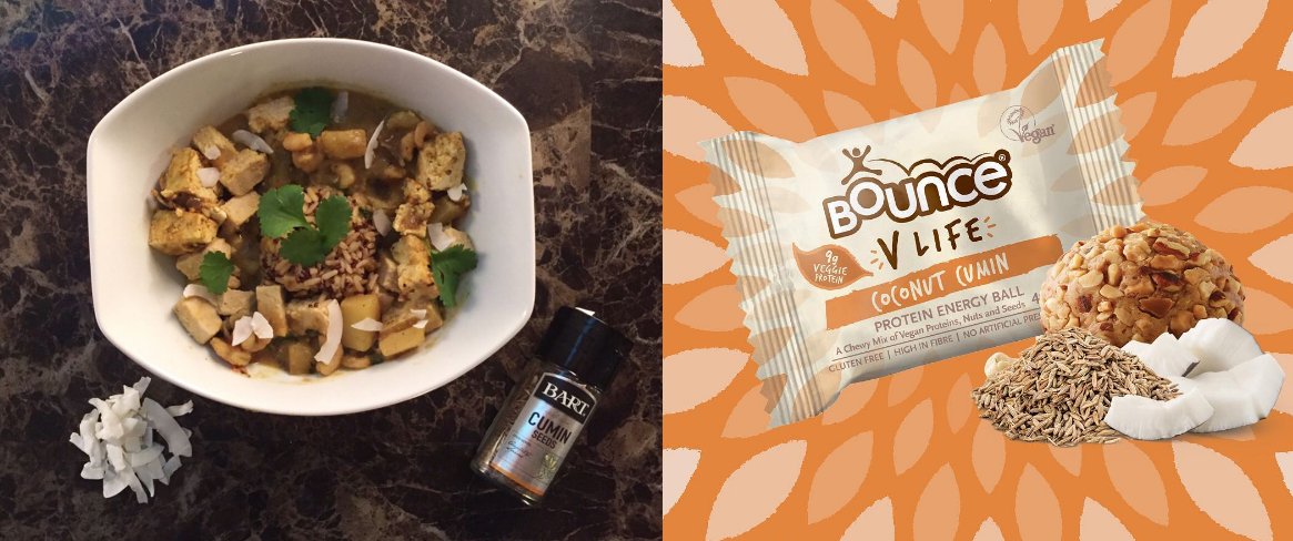 @indigoalicefit's cover photo for 'Bounce Inspired Coconut and Cumin Curry'