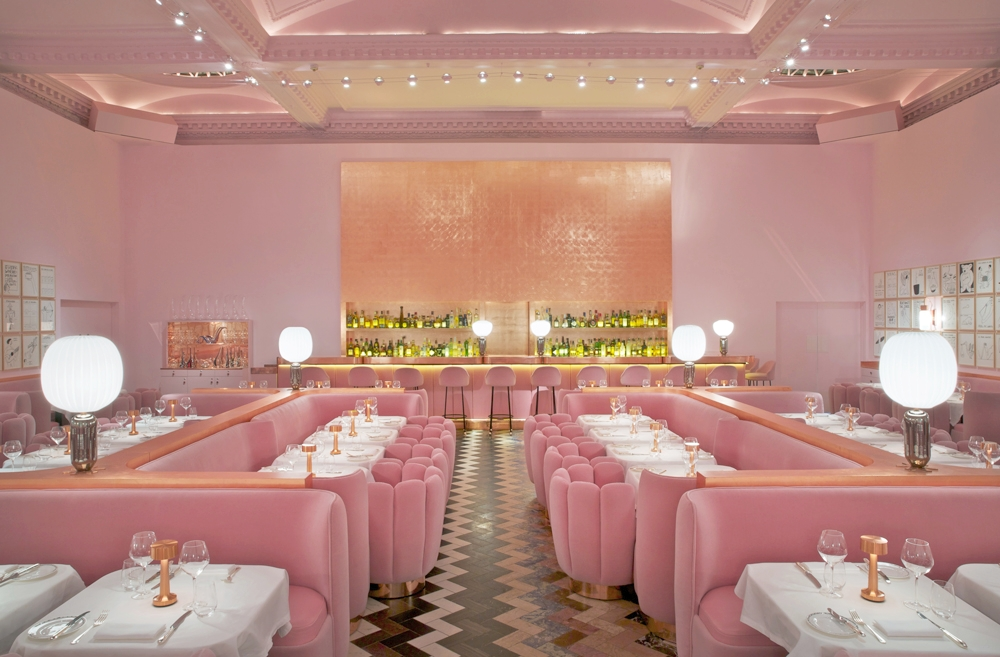 @estilo_nyc's cover photo for 'Three Restaurants Relishing in Millennial Pink'