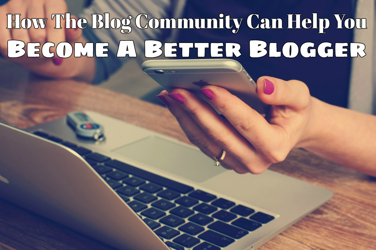 @purelyamy's cover photo for 'How the blog community can help you be a better blogger » Purely Amy'