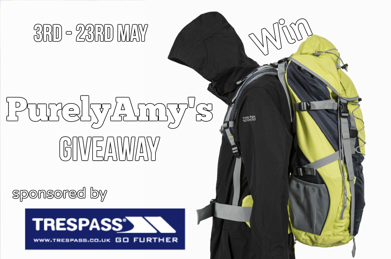 @purelyamy's cover photo for 'Trespass Rucksack - The Spring giveaway » Purely Amy'