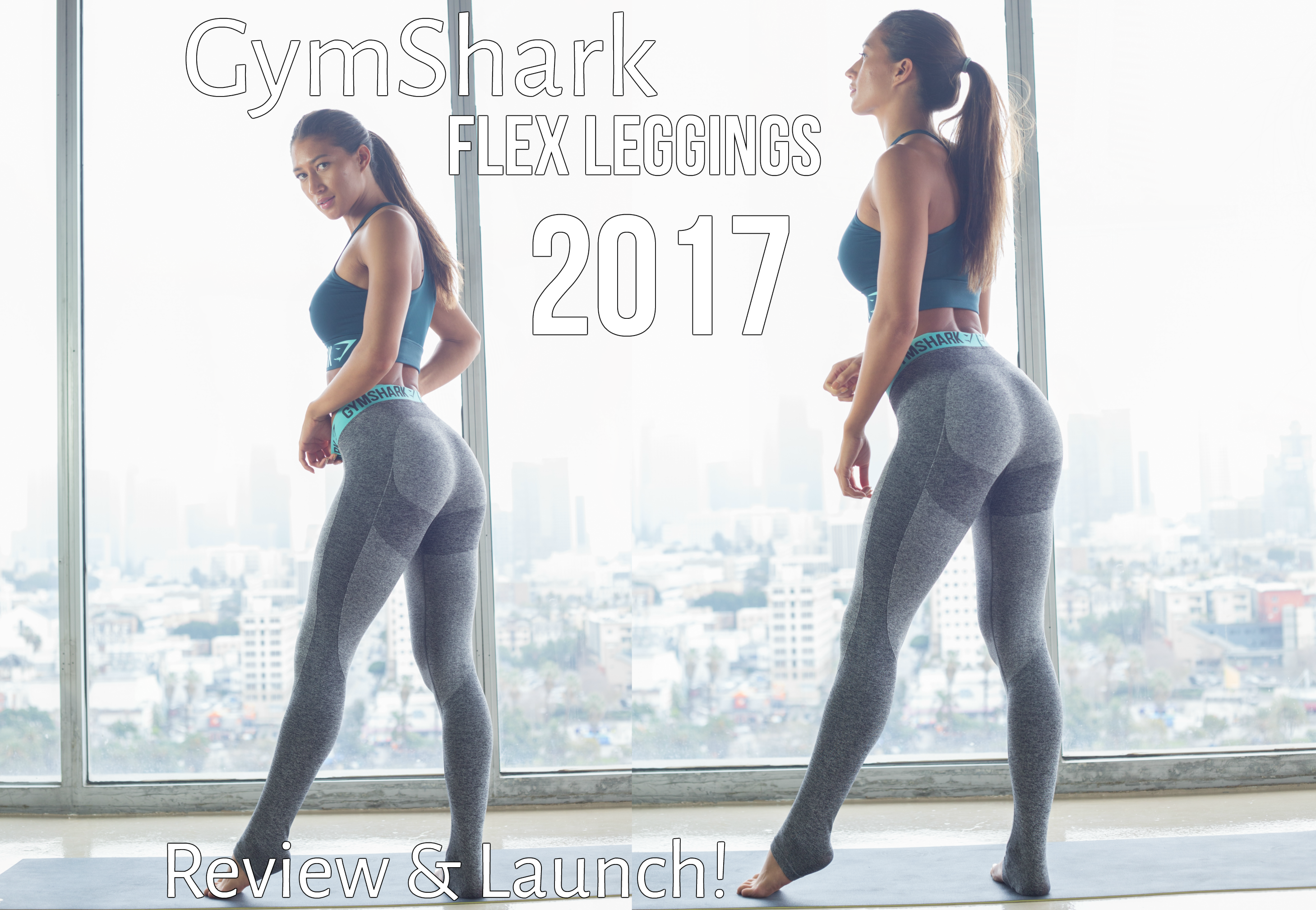 @purelyamy's cover photo for 'OOTD Gym Shark Flex Leggings » Purely Amy'