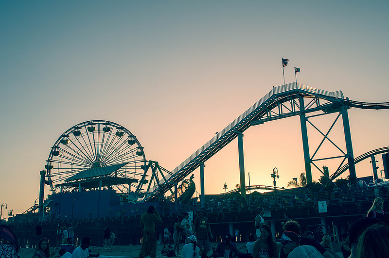 @colleencocobongo's cover photo for 'TWILIGHT CONCERTS AT THE SANTA MONICA PIER - COLLEEN WELSCH'