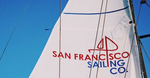 @49milessf's cover photo for 'Sail Forward into Spring with San Francisco Sailing Company'