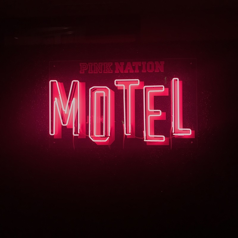 @hellogabrielle's cover photo for 'PINK NATION MOTEL'