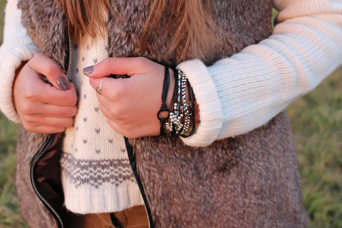 @hellogabrielle's cover photo for 'Winter Looks with Pura Vida Bracelets'