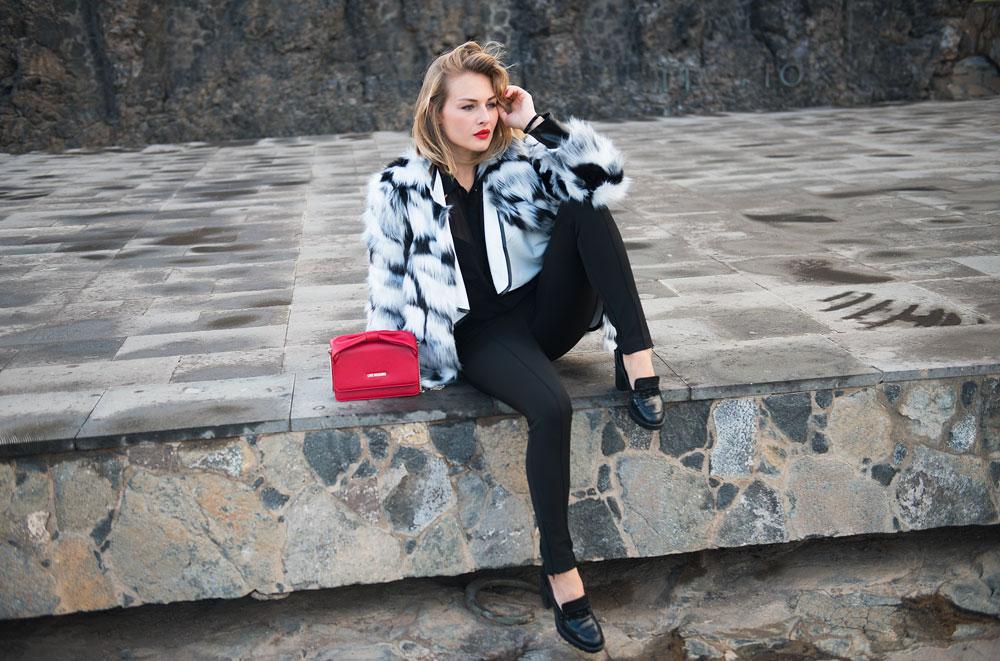 @francescacolomboofficial's cover photo for 'Un outfit con un Pellicciotto caldo per l'inverno'